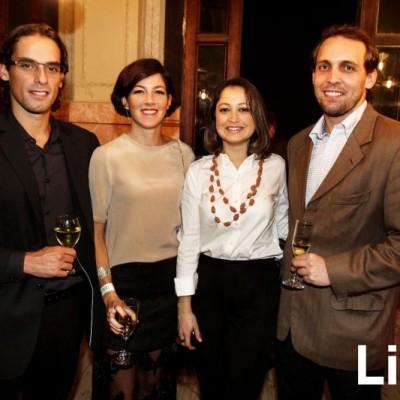 Omar Salas, Verónica Haaker, Patricia Acevedo y Nicolás Buckley