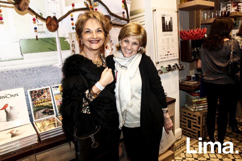 Patricia Portaro y Marissa Canaval