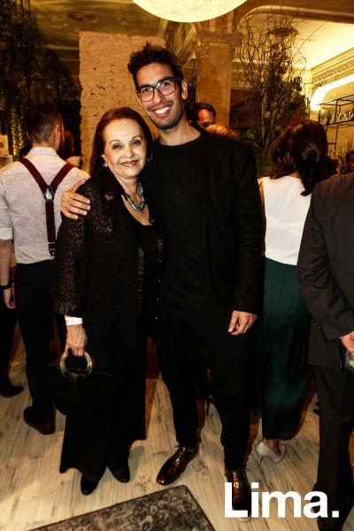 Sonia Cespedez Rossel y Gianfranco Loli