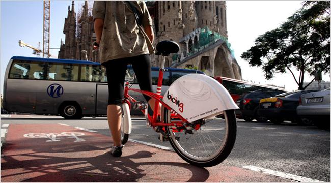 bicicleta barcelona