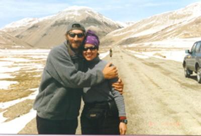 Francys y Sergei Arsentiev. En 1998, la pareja logró ascender el monte sin oxígeno. Pero al descender, la oscuridad les jugó una mala pasada y terminaron por separarse. Ambos murieron.