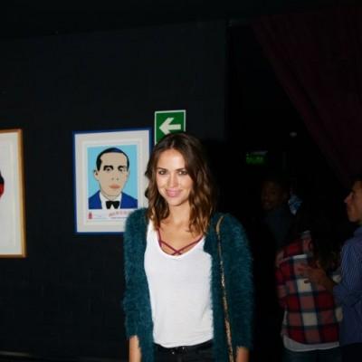 Andrea Hidalgo en cumpleaños de Rodrigo Conroy, Avalon.