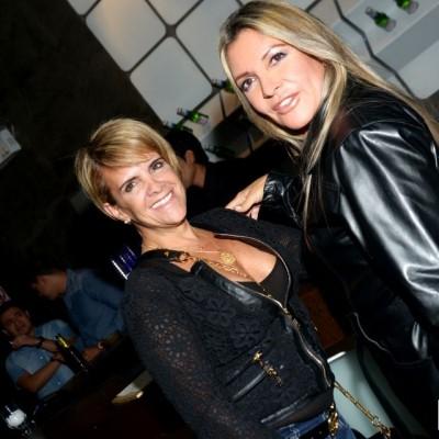 Anita Balducci y Jannina Privat en cumpleaños de Rodrigo Conroy, Avalon