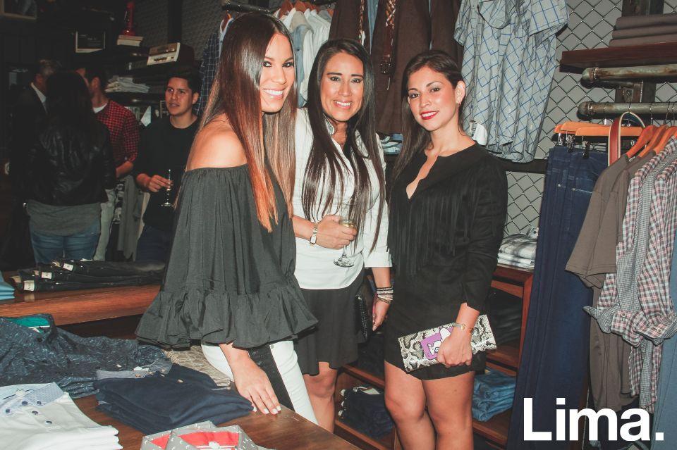 Antonella Legua, Fiorella Sifuntes y Monica Bustos