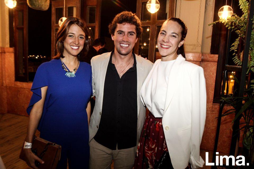 Ariana Albarrón, Ramón Aguilar y  Delia Rodríguez