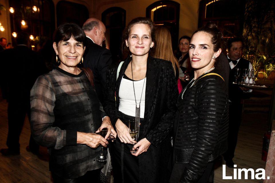 Armida Testino, Melissa Herrera y Solana Costa