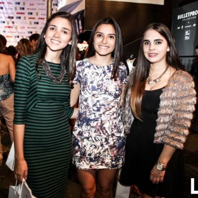 Bárbara Gómez, Gianella Benavente y Daniela López