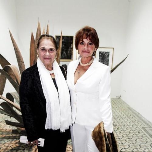 Blanca Pastor y Gianna de Rivero