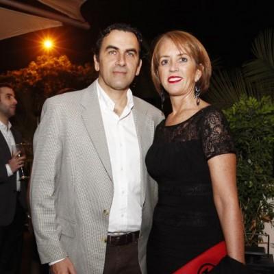 Carlos Cabieses y Delia Mariátegui