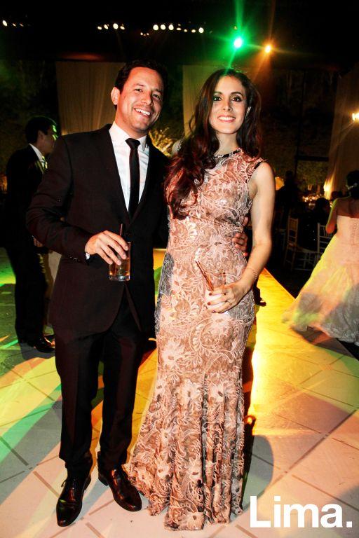 Carlos Ruiz y Carolina Chipollini