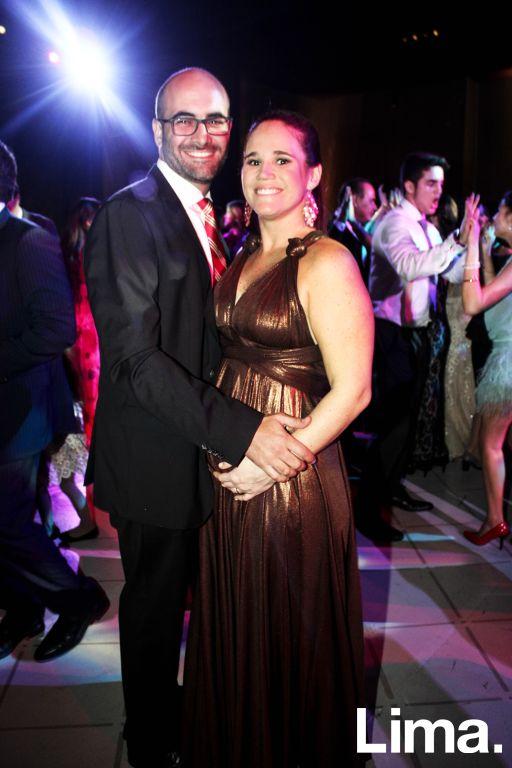 Diego Carrillo y Daniella Andrade