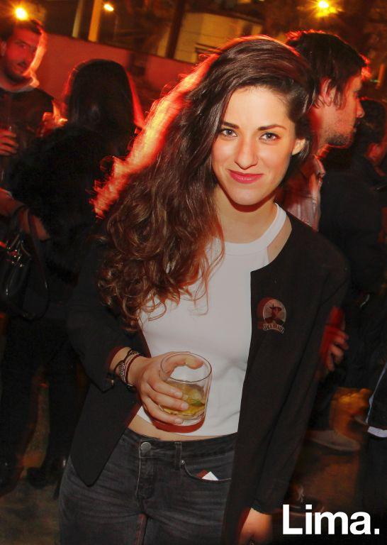 Elisa Cantone en fiesta Jack Daniel's, Miraflores.