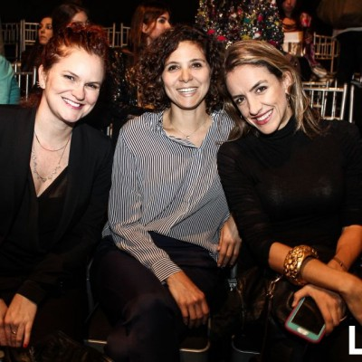 Elke Neusdtl, Andrea Cilloniz y Marinés Duarte