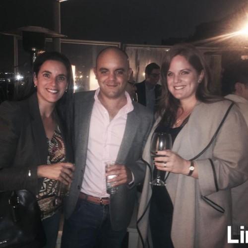 Erica Shehadeh , Alvaro de la Fuente y Bianca Cochella