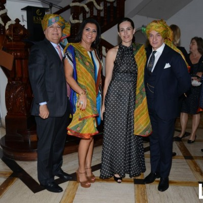 Erlon Arfelli, Soraya Arfelli, Mar Campo y Antonino Damma