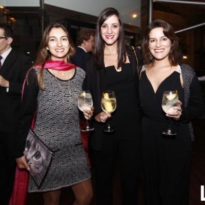 Estefania Granda, Nicole Bazo y Melanie Macpherson