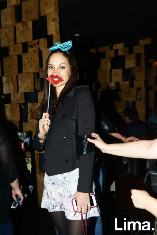 Fabiola Lazo en cumpleaños de Rodrigo Conroy, Avalon.