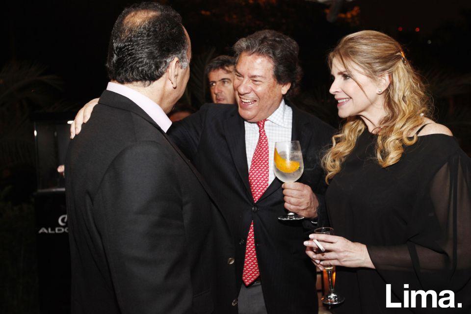 Fernando Pazos, Martin de Rossi y Carolina Tola