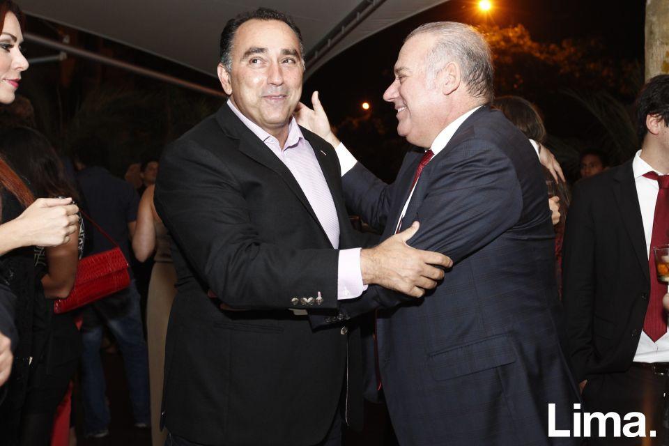 Fernando Pazos y Aldo Noriega