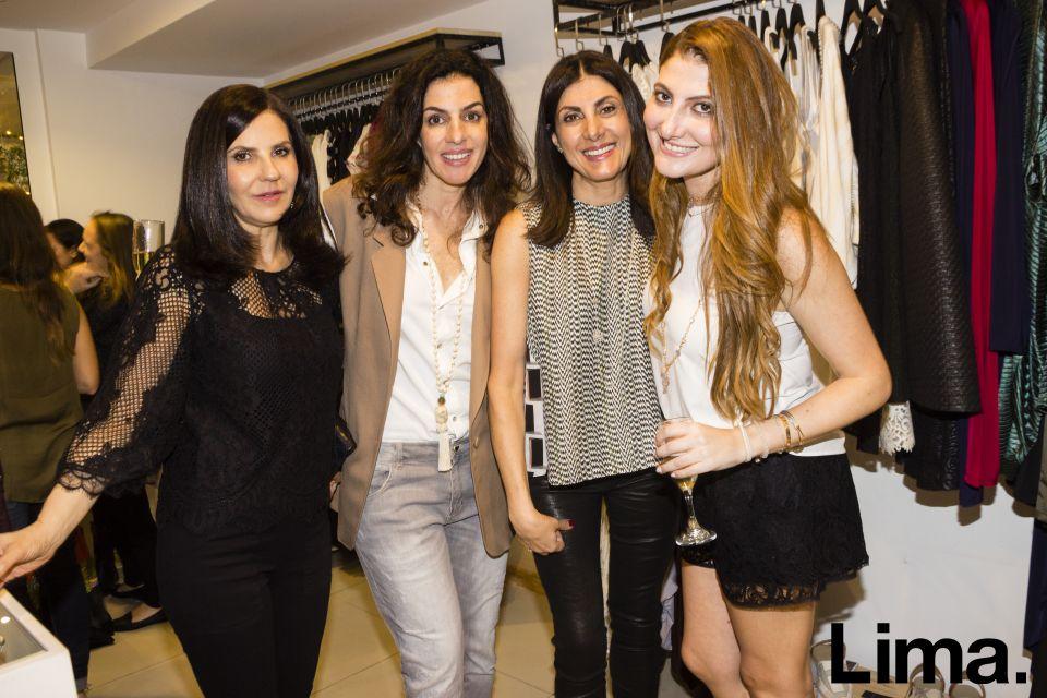 Ghada Farah, Karen Mitre, Margoth Zaidan y Denisse Zaidan