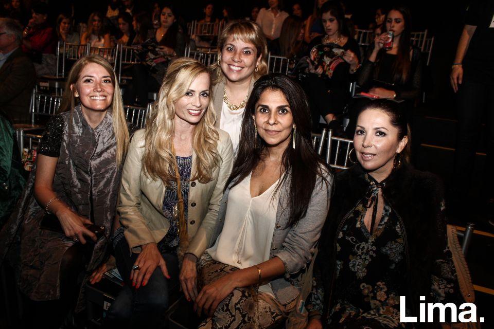Giuliana Gerloni, María Pía Rosas, Rochi del Castillo, Patricia Ricketts y Lucía Ricketts