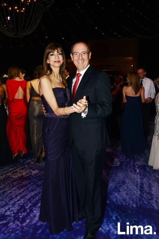 Guillermo Obradocich y Paola Lipp
