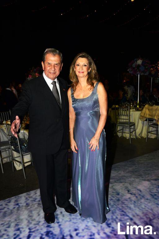 Gustavo Texeira y Cecilia Rapuzzi
