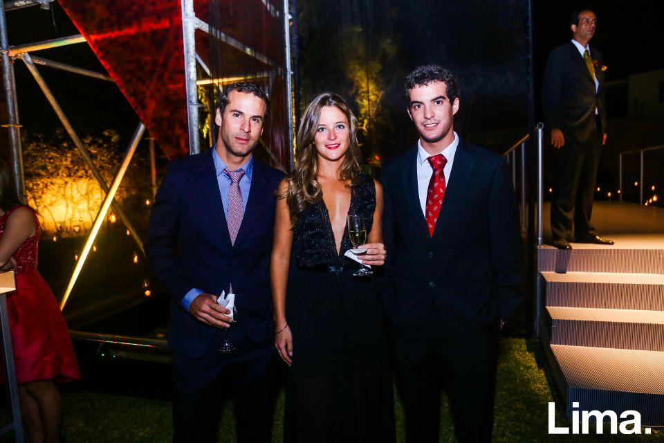 Roberto Gómez de Córdova, Francesca Hemmerde y Luis Antonio Mendoza
