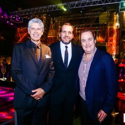 Alonso Chávez-Molina, Jack Gomberoff y Fernando Onrubia