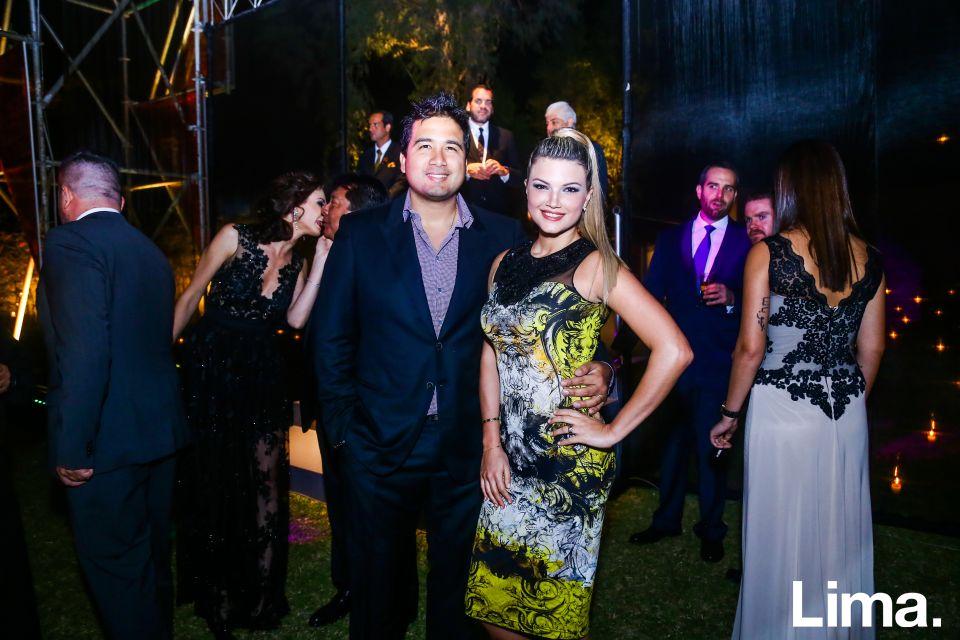 Oscar Peña y Alicia Hamman