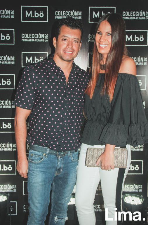 Jair Icaza y Antonella Legua