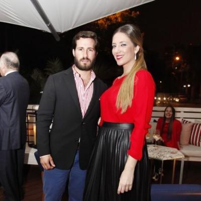 Javier Millership y Joanna Boloña