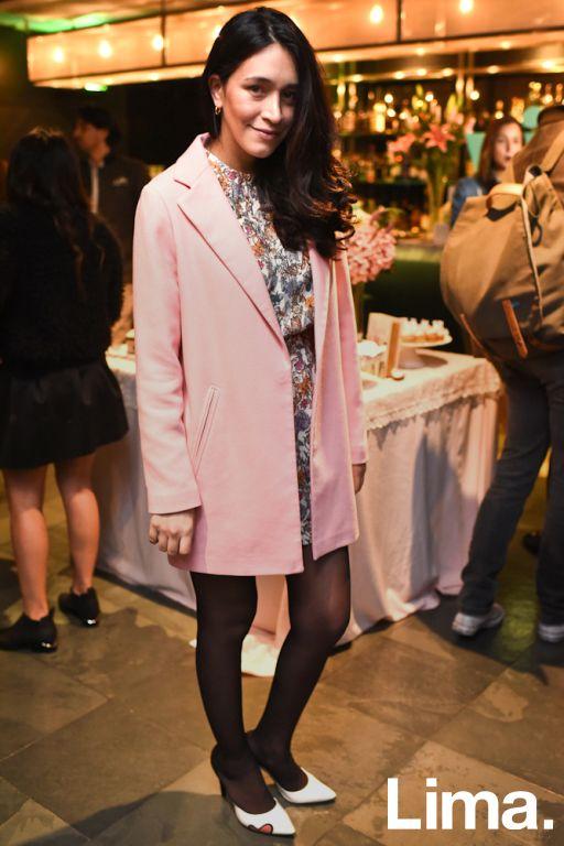 Jeani Jaramillo en Cóctel de Bloggers BTH