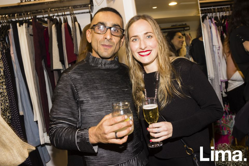 Johan Velit y Celia Barreda