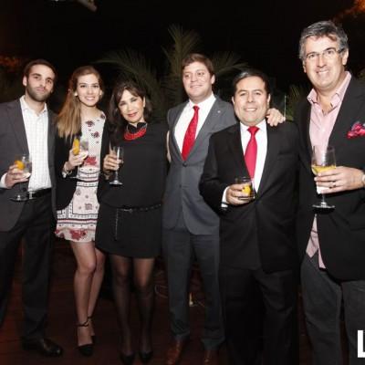 Jonathan Goldin, Andrea Noriega, Liz Rodriguez, Franco Noriega, Celso Dextre, Gustavo Salazar