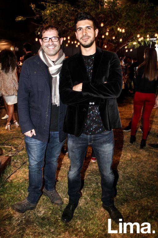 Juan Carlos Fisher y Alvaro Benalcázar