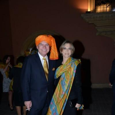 Juan Carlos Fisher y Mónica de Fisher
