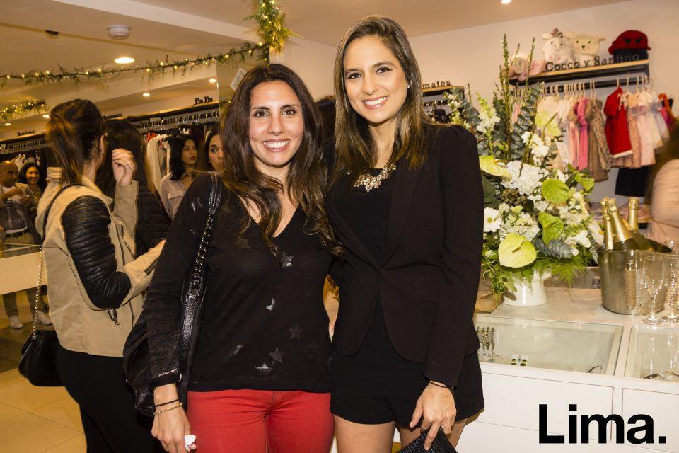 Katerina Farah y Alexandra Sabal