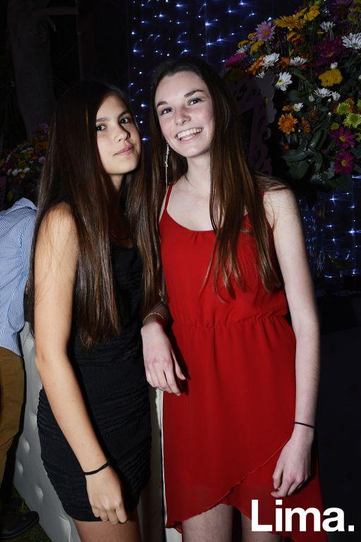 Daria Peña y Luciana Duharte