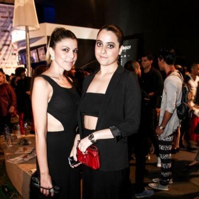Liana Silvestre y Arianne Martelo