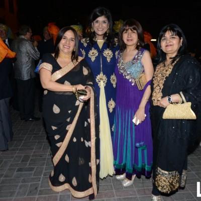 Liliana Krsihna, Geetu Chugabi, Lula Gupta y Hasin Mirpuri