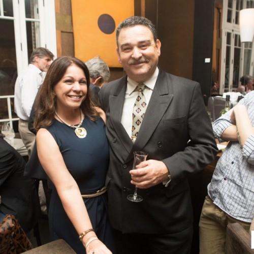 Lily Morey y Eugenio Varela