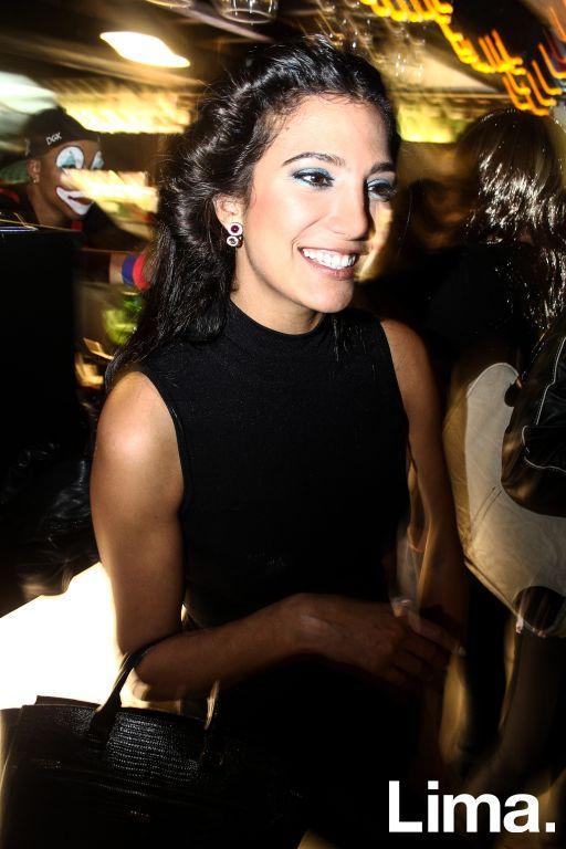 Lorena Larriviere  en fiesta de Halloween, Microteatro.