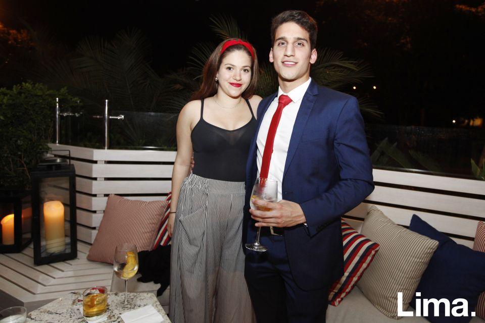 Luciana Roullion y Rodrigo Recavarren