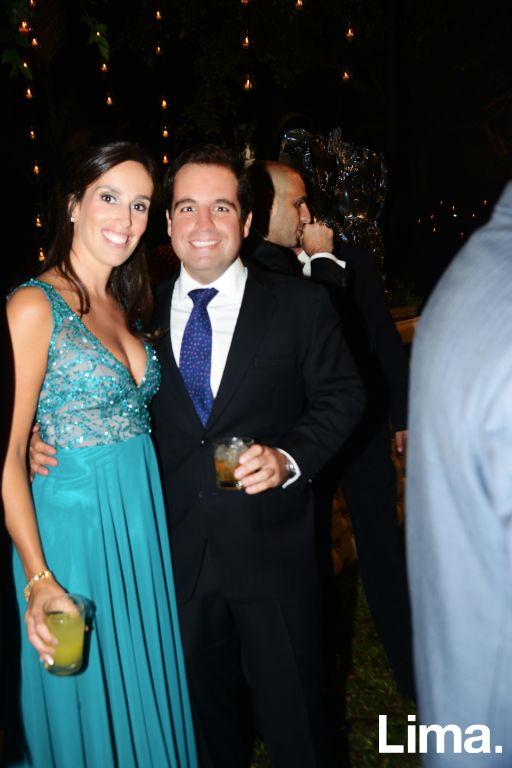 Ludovicka Dalla Francesca y Roberto Derteano