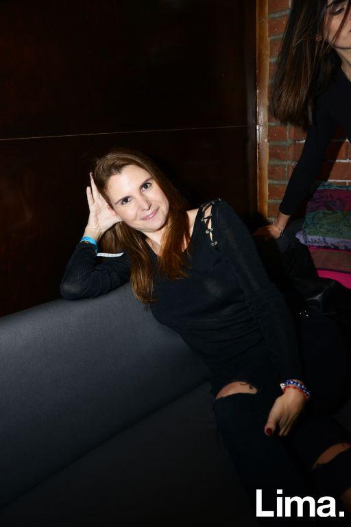 Luz Papadimitriou en concierto de Novalima, Bazar.