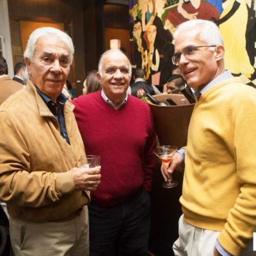 hopp Delgado, Jaime Uranga y Raúl Ortiz de Zevallos