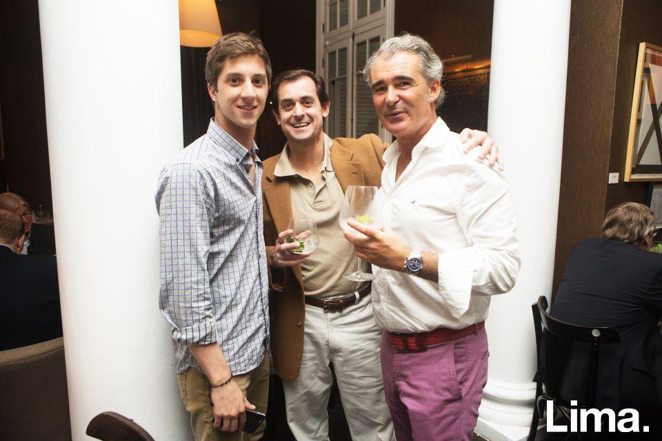 Alejandro Ferreyros, Maud del Solar y Rafael Arce