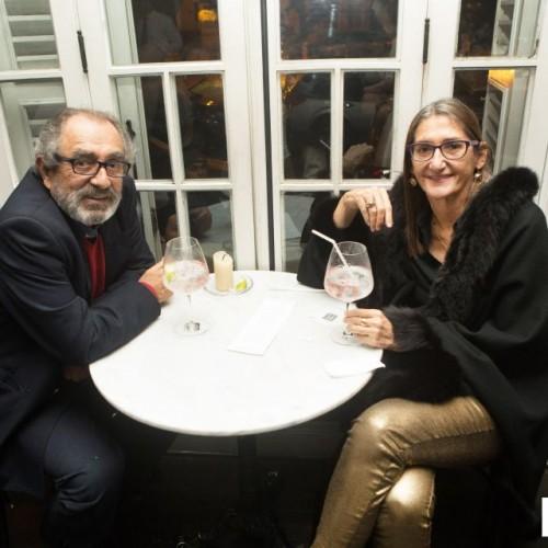 Eduardo Burga y Mariela Balbi