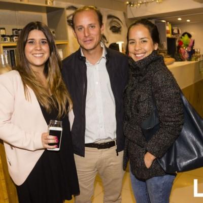 Malena Barreda, Giovanni Marsano y Ana Rocío Modonese